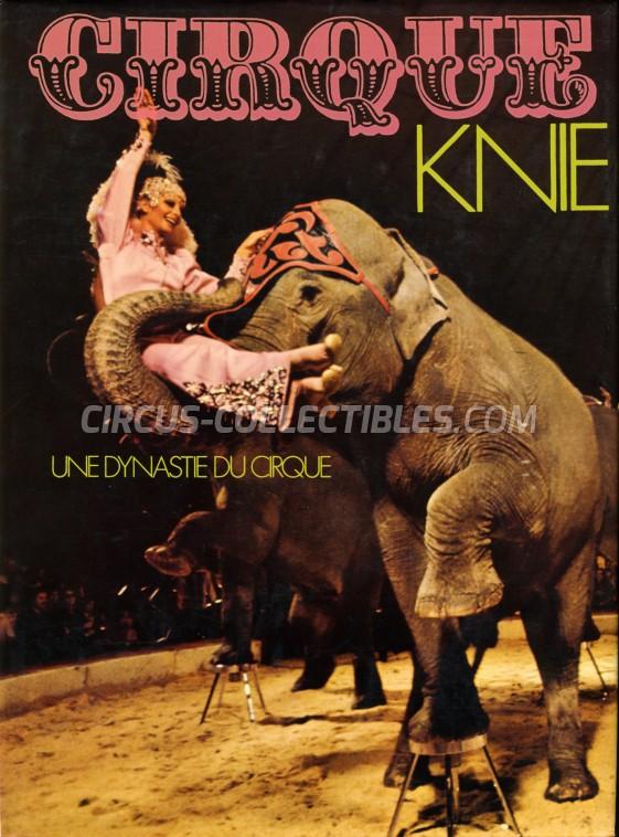 Cirque Knie - Une Dynastie du Cirque - Book - 1975