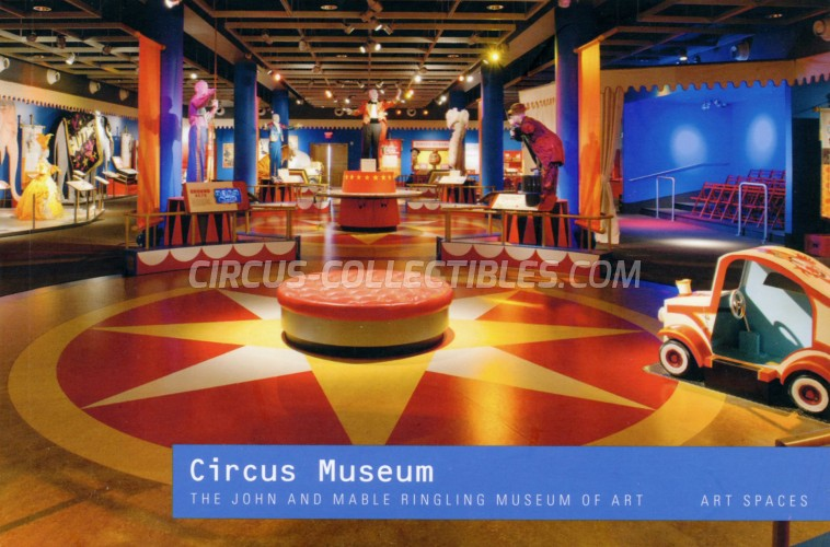 Circus Museum - The John & Mable Ringling Museum of Art - Art Spaces - Book - 2014