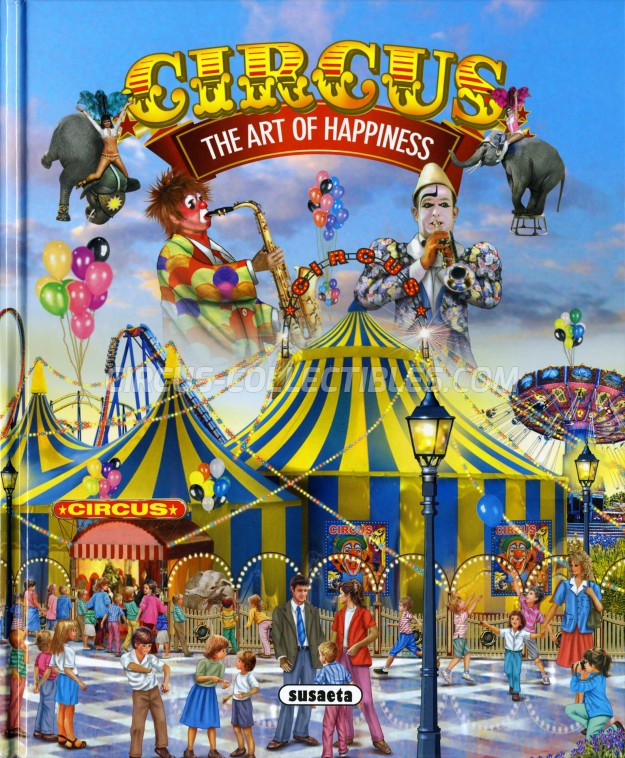 Circus - The Art Of Happiness - Book - 2014