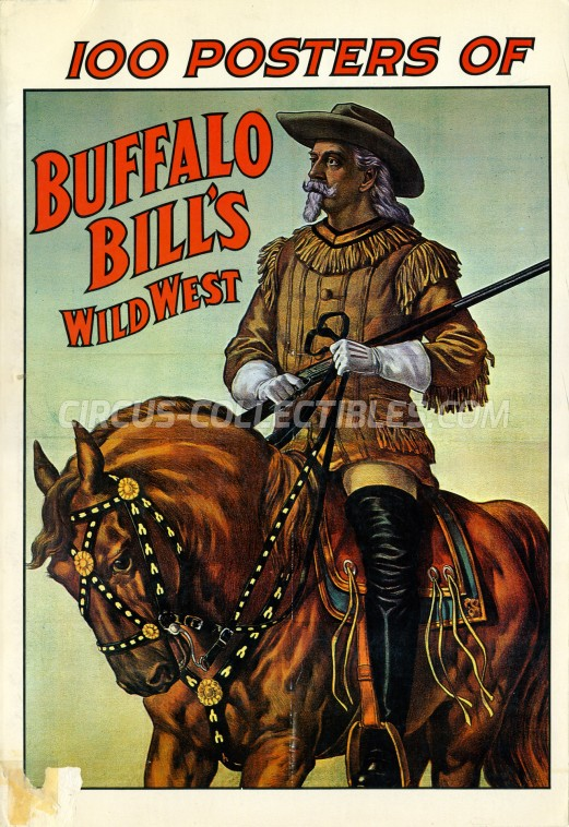 100 Posters of Buffalo Bill's Wild West - Book - 1976