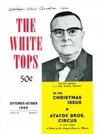 The White Tops - Magazine - USA, 1960