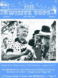 The White Tops - Magazine - USA, 1989
