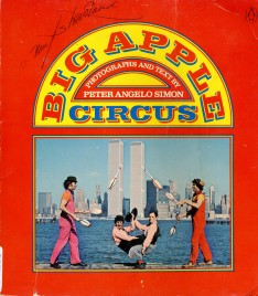 Big Apple Circus - Book - USA, 1978