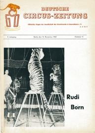 Deutsche Circus-Zeitung - Magazine - Germany, 1964