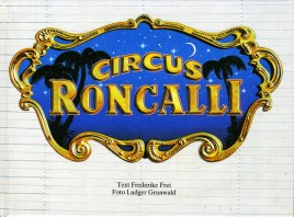 Circus Roncalli - Book - Germany, 1985