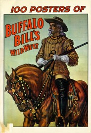 100 Posters of Buffalo Bill's Wild West - Book - USA, 1976