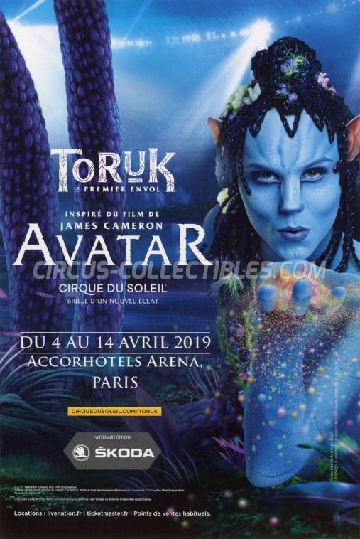Cirque du Soleil Circus Ticket/Flyer - France 2019