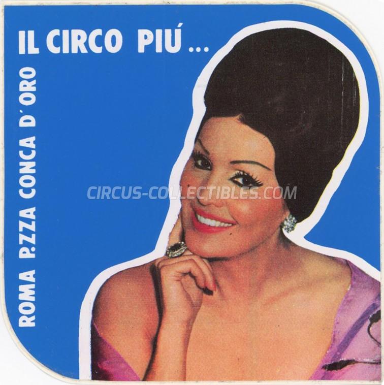 Moira Orfei Circus Ticket/Flyer - Italy 0