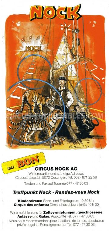 Nock Circus Ticket/Flyer -  0
