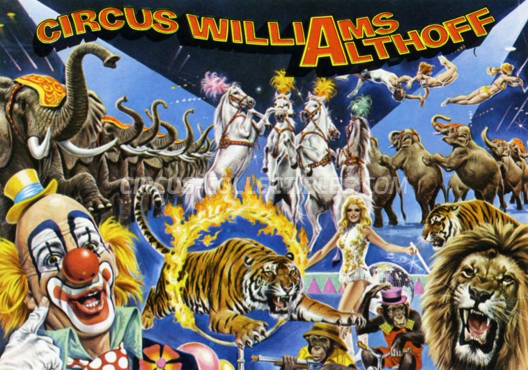 Althoff-Williams Circus Ticket/Flyer - Germany 1979