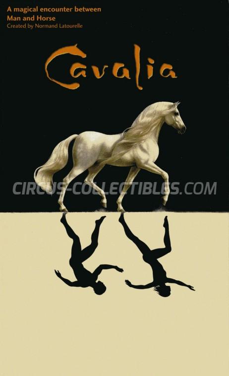 Cavalia Circus Ticket/Flyer -  2005