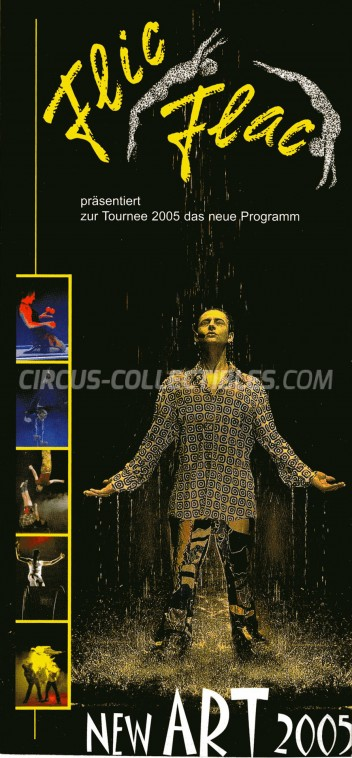 Flic Flac Circus Ticket/Flyer -  2005