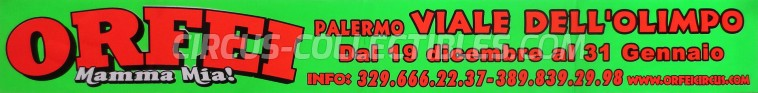 Orfei Circus Ticket/Flyer - Italy 0