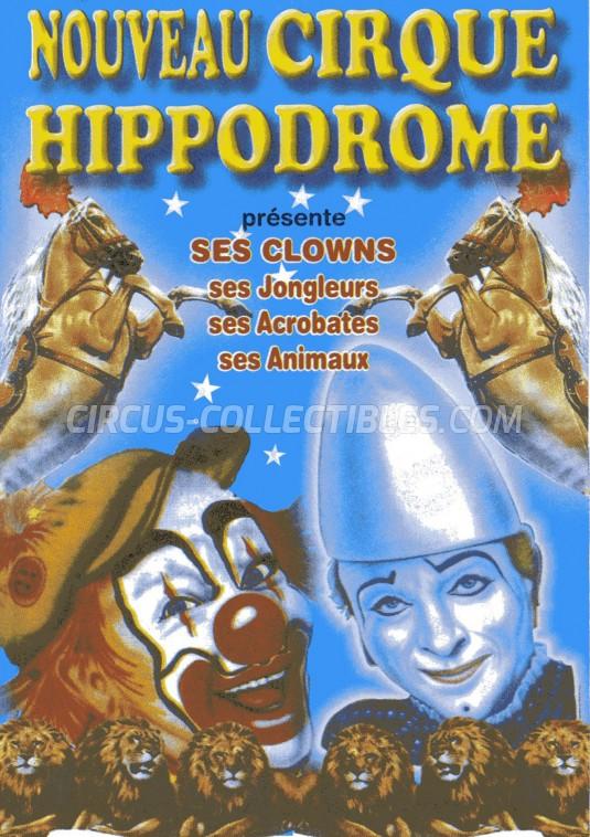 Hippodrome Circus Ticket/Flyer -  0