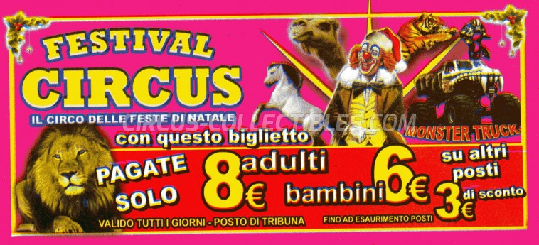 Festival Circus Circus Ticket/Flyer -  0