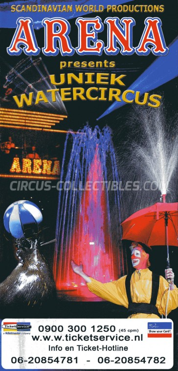 Arena Circus Ticket/Flyer -  0