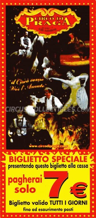 Circo di Praga Circus Ticket/Flyer -  0