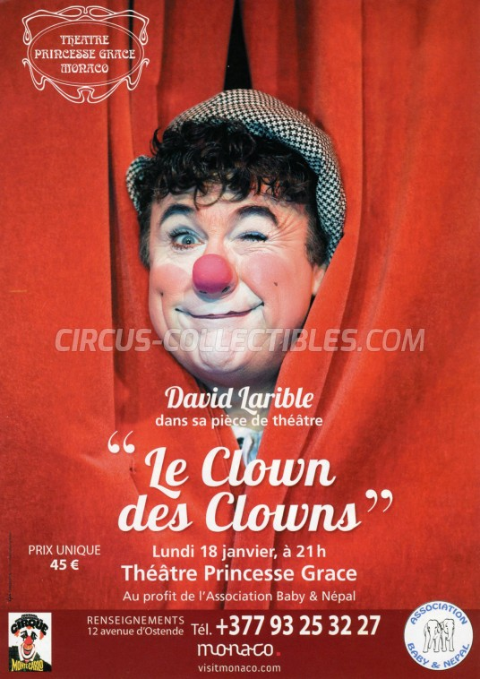 Festival International du Cirque de Monte-Carlo Circus Ticket/Flyer -  2016