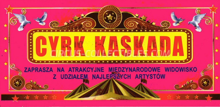 Kaskada Circus Ticket/Flyer -  0