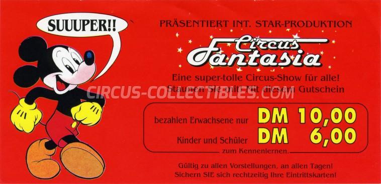 Fantasia Circus Ticket/Flyer -  0
