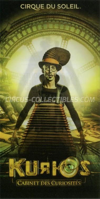 Cirque du Soleil Circus Ticket/Flyer - Canada 2014