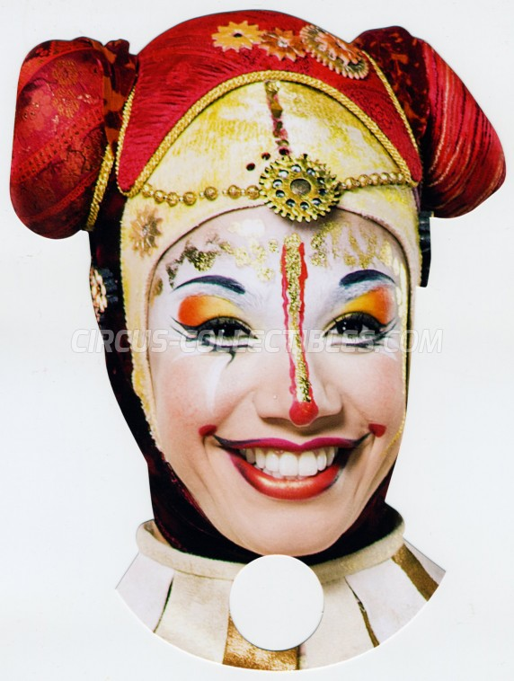 Cirque du Soleil Circus Ticket/Flyer - Singapore 2017