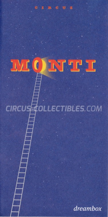 Monti Circus Ticket/Flyer -  2017