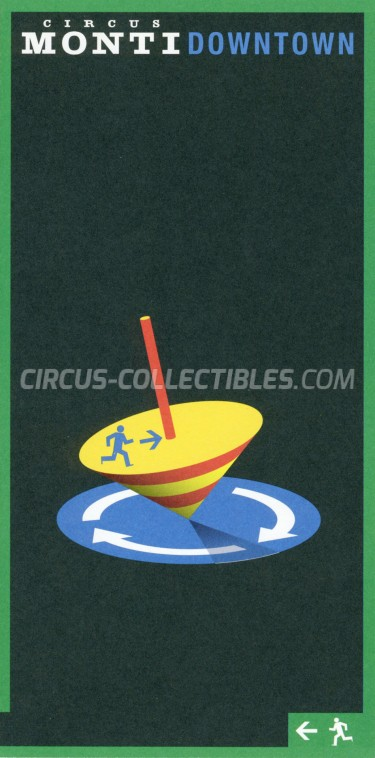 Monti Circus Ticket/Flyer -  2016