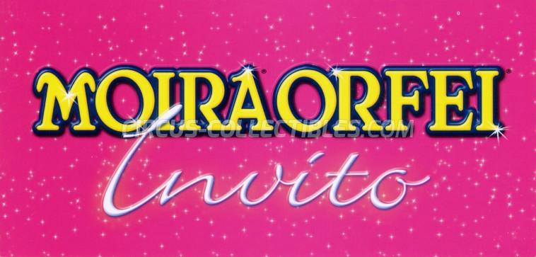 Moira Orfei Circus Ticket/Flyer - Italy 2012
