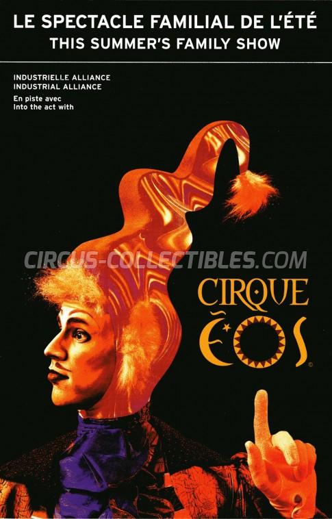 Cirque EOS Circus Ticket/Flyer - Canada 2002