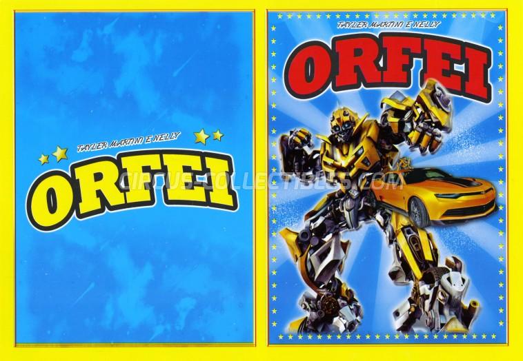 Orfei Circus Ticket/Flyer -  0