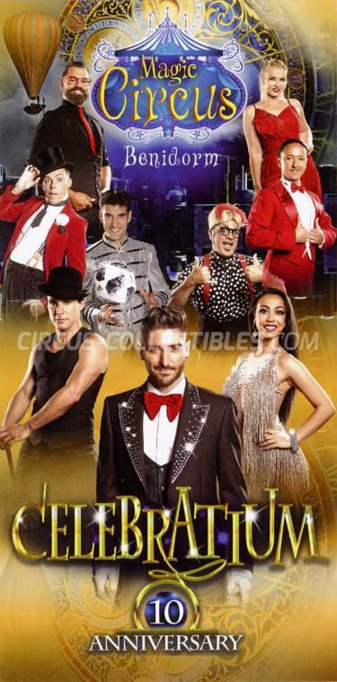 Benidorm Magic Circus Circus Ticket/Flyer - Spain 2018