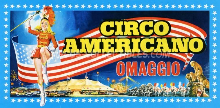 American Circus Circus Ticket/Flyer -  0