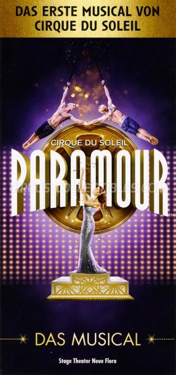 Cirque du Soleil Circus Ticket/Flyer - Germany 2019