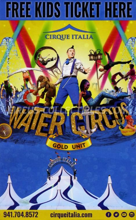 Cirque Italia Circus Ticket/Flyer -  2019