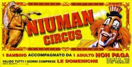 Niuman Circus Circus Ticket - 2007