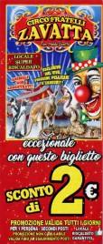 Circo Fratelli Zavatta Circus Ticket - 2019