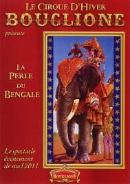 Le Cirque D'Hiver Bouglione Circus Ticket - 2011