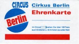 Circus Berlin Circus Ticket - 0