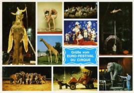 Circus Busch-Roland Circus Ticket - 1979