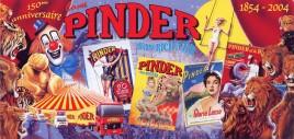 Cirque Pinder Circus Ticket - 2004