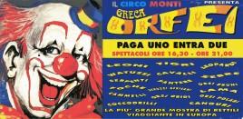 Circo Greca Orfei Circus Ticket - 0