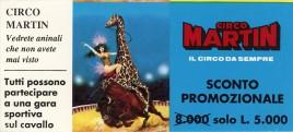 Circo Martin Circus Ticket - 0