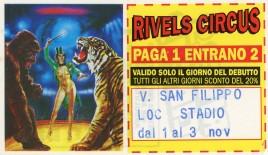 Rivels Circus Circus Ticket - 0