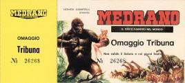 Circo Medrano Circus Ticket - 1982