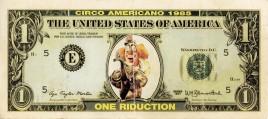 Circo Americano Circus Ticket - 1985
