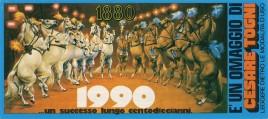 Circo Cesare Togni Circus Ticket - 1991
