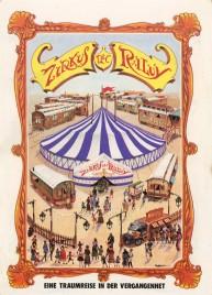 Zirkus Raluy Circus Ticket - 1989