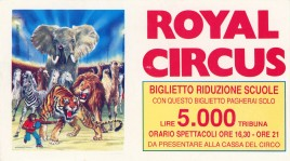 Circus Royal Circus Ticket - 0