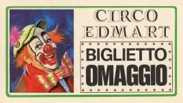 Circo Edmart Circus Ticket - 1987